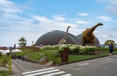 Ingresso do Museu do Jurássico das Astúrias