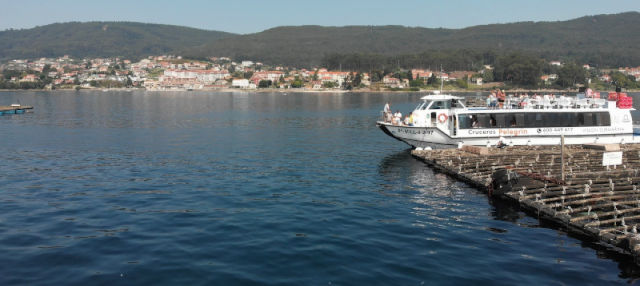 Paseo en barco por la ría + Degustación de mejillones