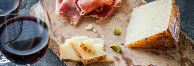 Tour gastronómico: queso, vino y jamón