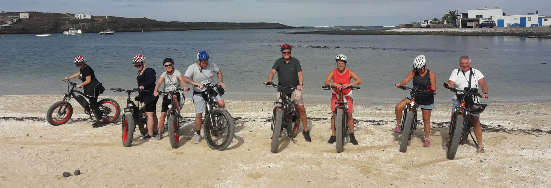 Tour en bicicleta eléctrica desde Corralejo