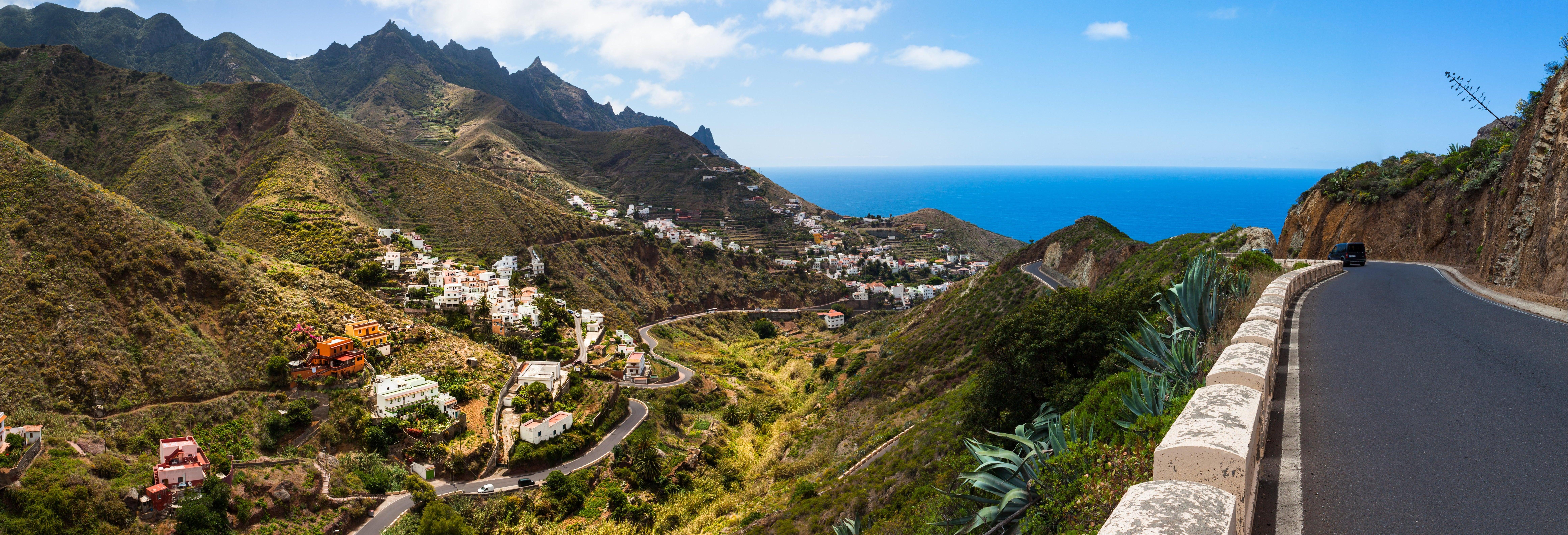 Excursión a Santa Cruz, La Laguna y Taganana desde el sur de Tenerife