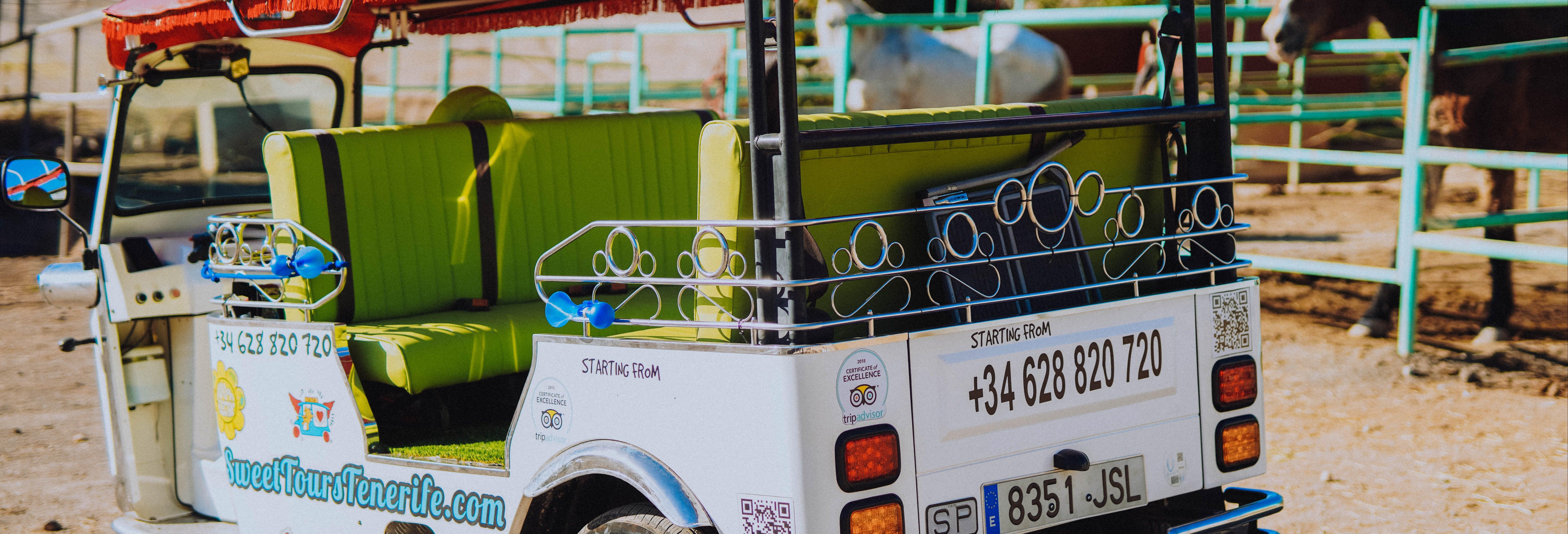 Tour en tuk tuk por Costa Adeje