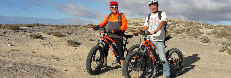 Tour en bicicleta eléctrica desde Costa Calma