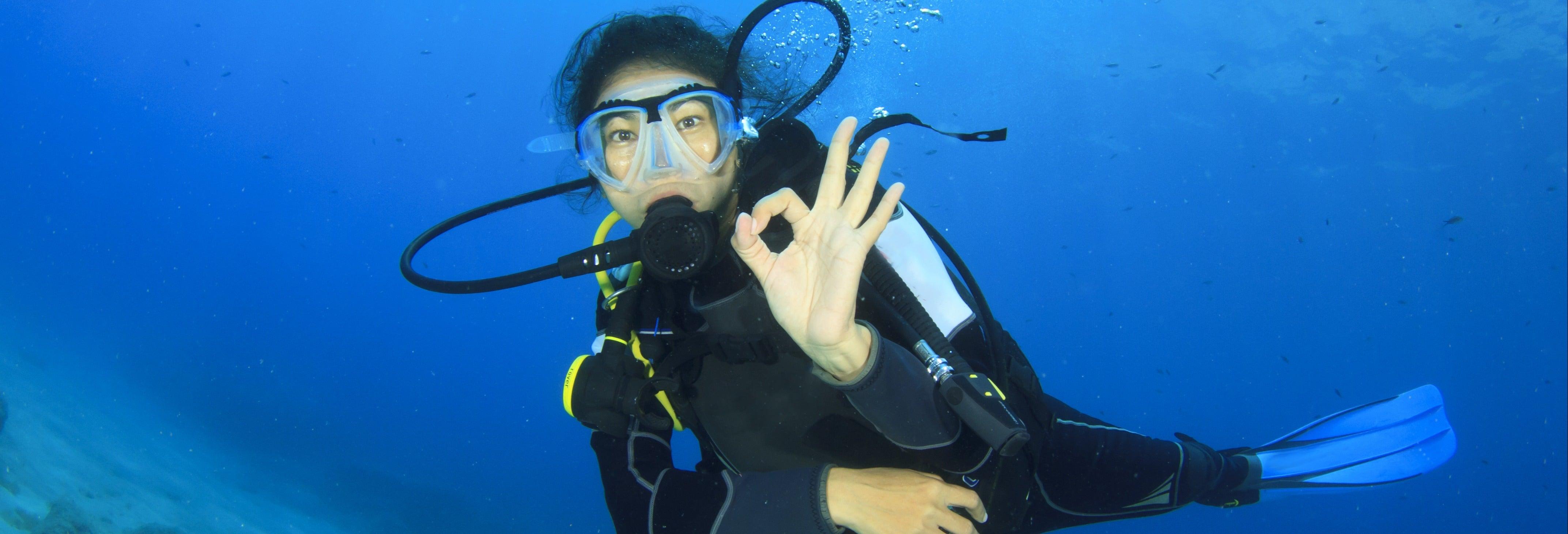 Curso PADI Scuba Diver en Costa Teguise