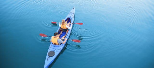 Tour en kayak por Dehesa de Campoamor