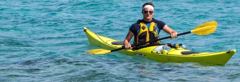 Excursión en kayak por Dehesa de Campoamor