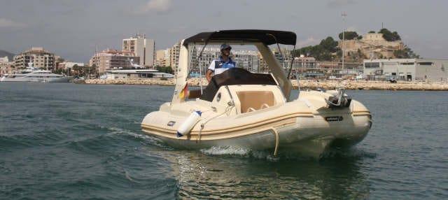 Alquiler de barco en Denia