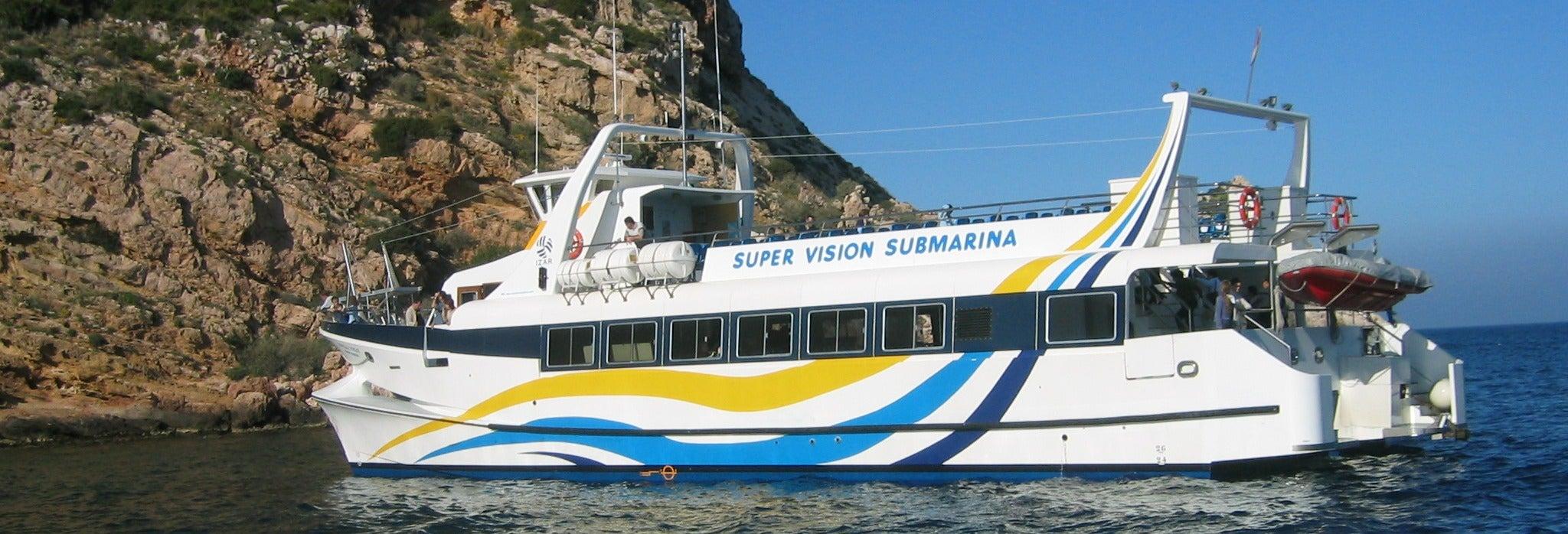 Excursión a los cabos de Jávea e isla de Portichol en catamarán