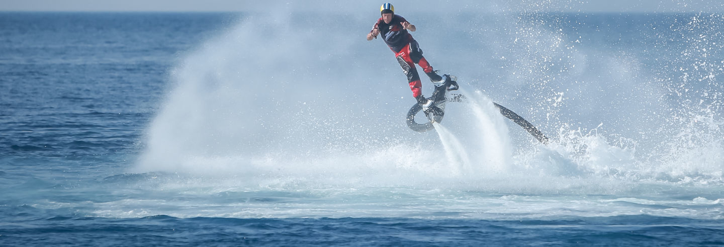 Flyboard à Dénia