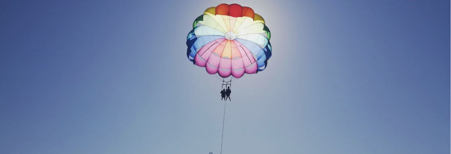 Parasailing in Denia