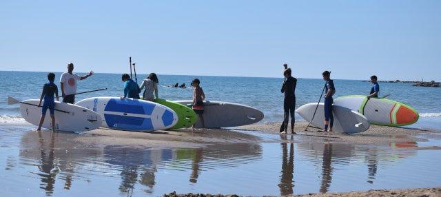 Curso de paddle surf en El Campello