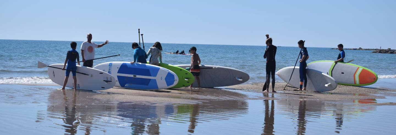 Curso de paddle surf em El Campello
