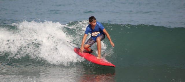 Curso de surf en El Campello