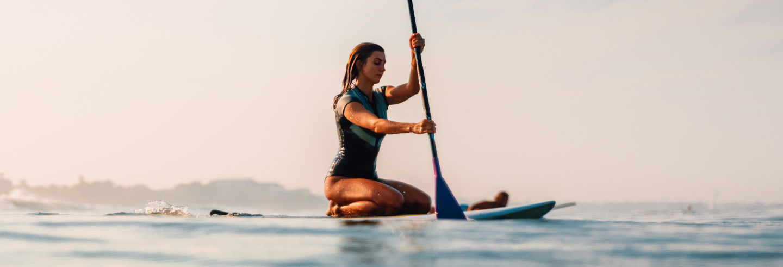 Excursión en paddle surf por El Campello