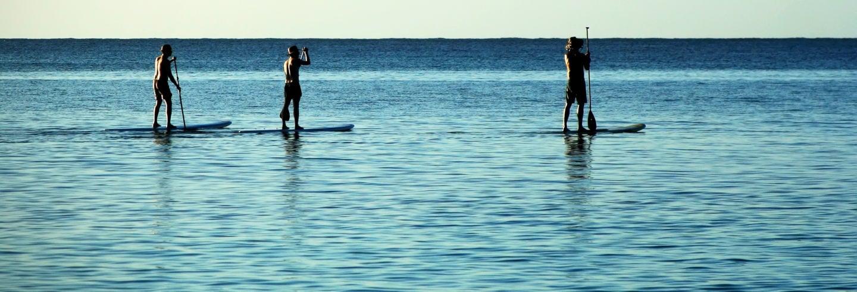Tour en paddle surf por La Lanzada