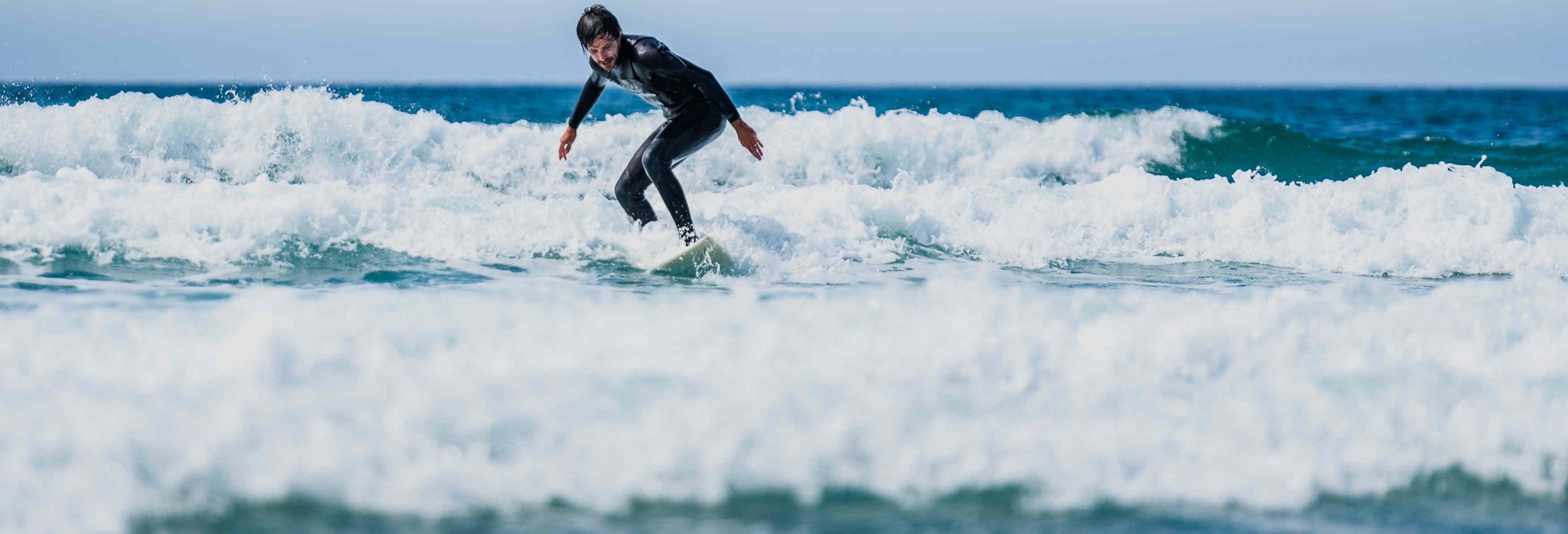 Curso de surf en El Palmar de Vejer