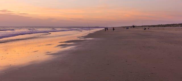 Paseo en barco por la ría de Punta Umbría al atardecer