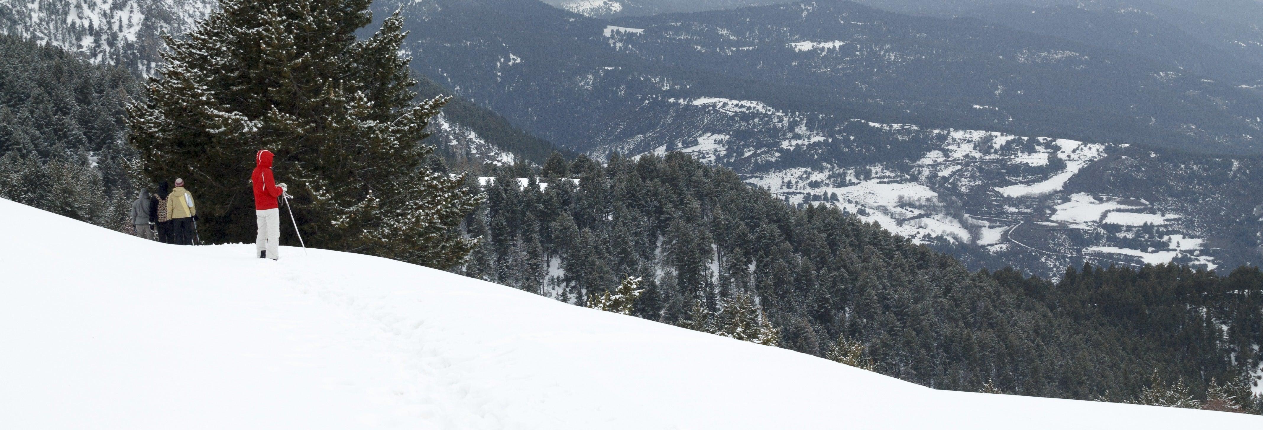 Passeio com raquetes de neve pelo Parque Nacional de Aigüestortes
