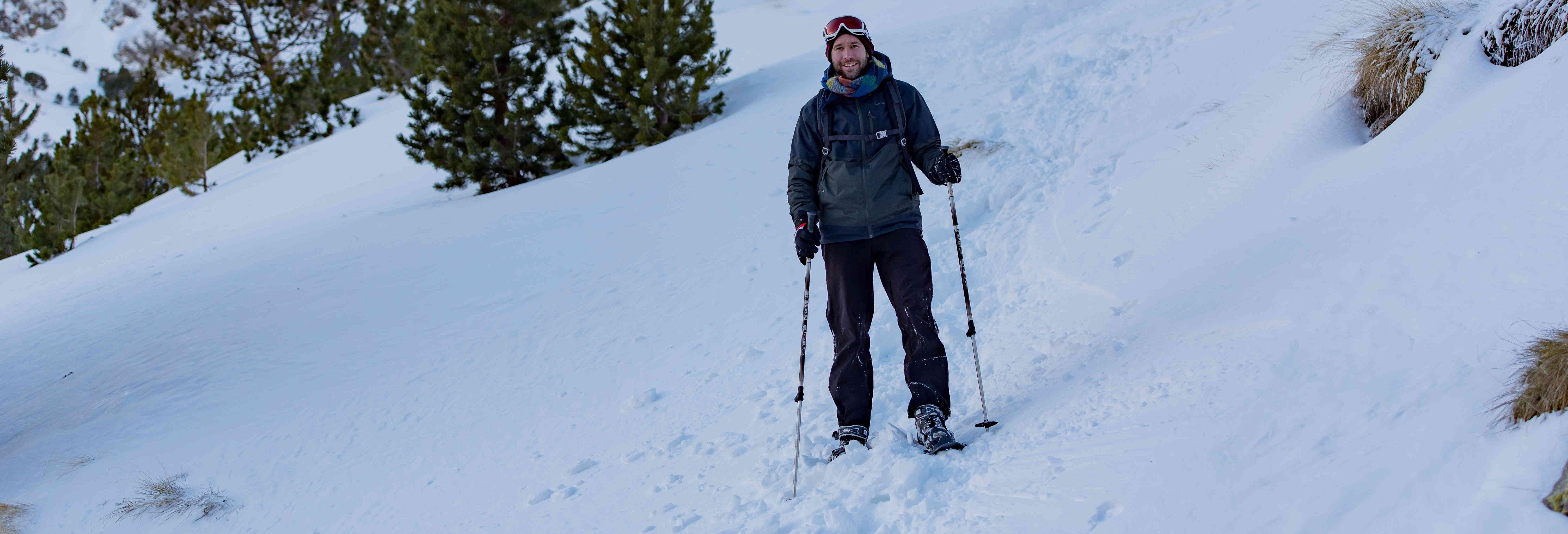 Paseo con raquetas de nieve por el Alto Pirineo