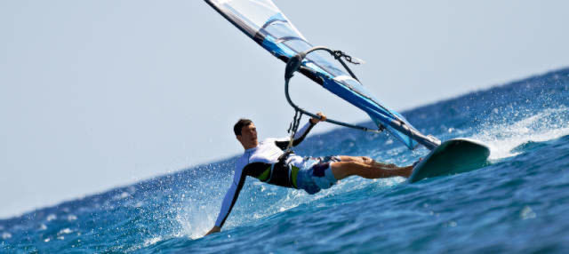 Curso de windsurf en Estartit