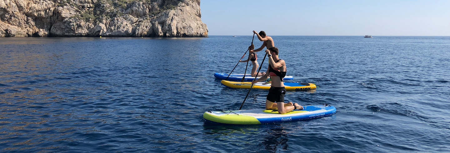 Tour de paddle surf por L'Estartit