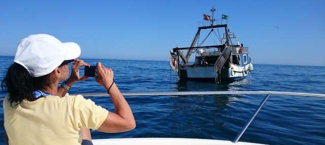 Tour por el puerto de Estepona + Paseo en barco