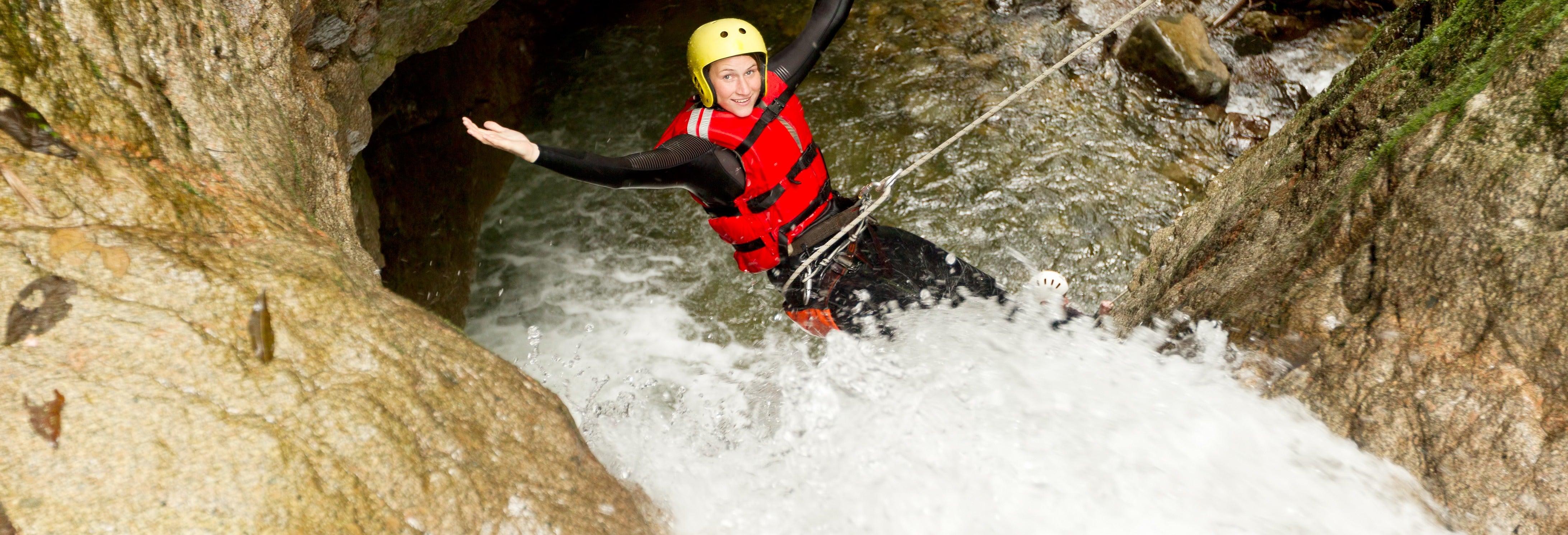 Canyoning nos Pireneus catalães
