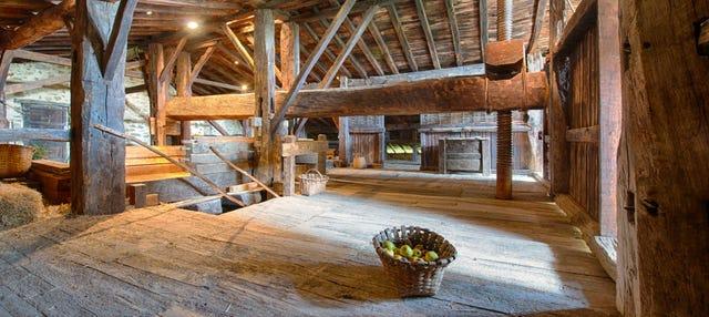 Visita a un caserío vasco y a una sidrería