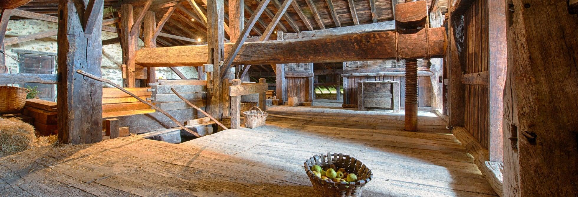 Excursión a un caserío vasco y a una sidrería
