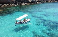 Alquiler de barco sin licencia en Formentera
