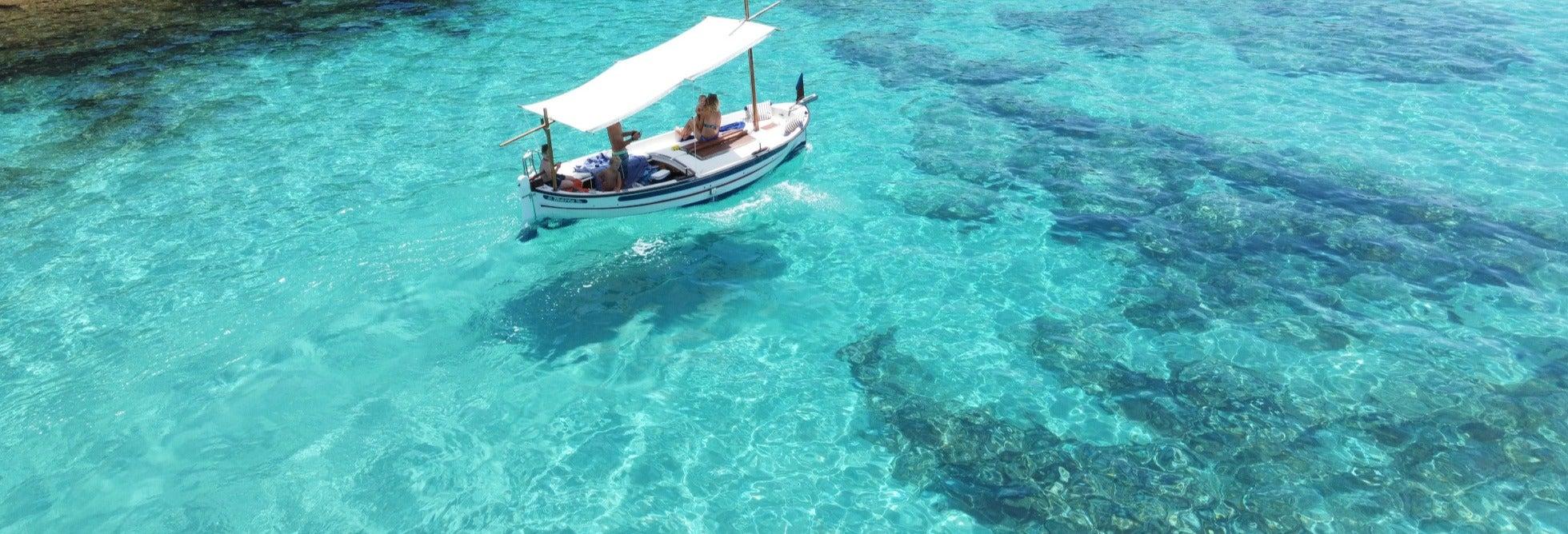 Location de bateau privé sans permis à Formentera