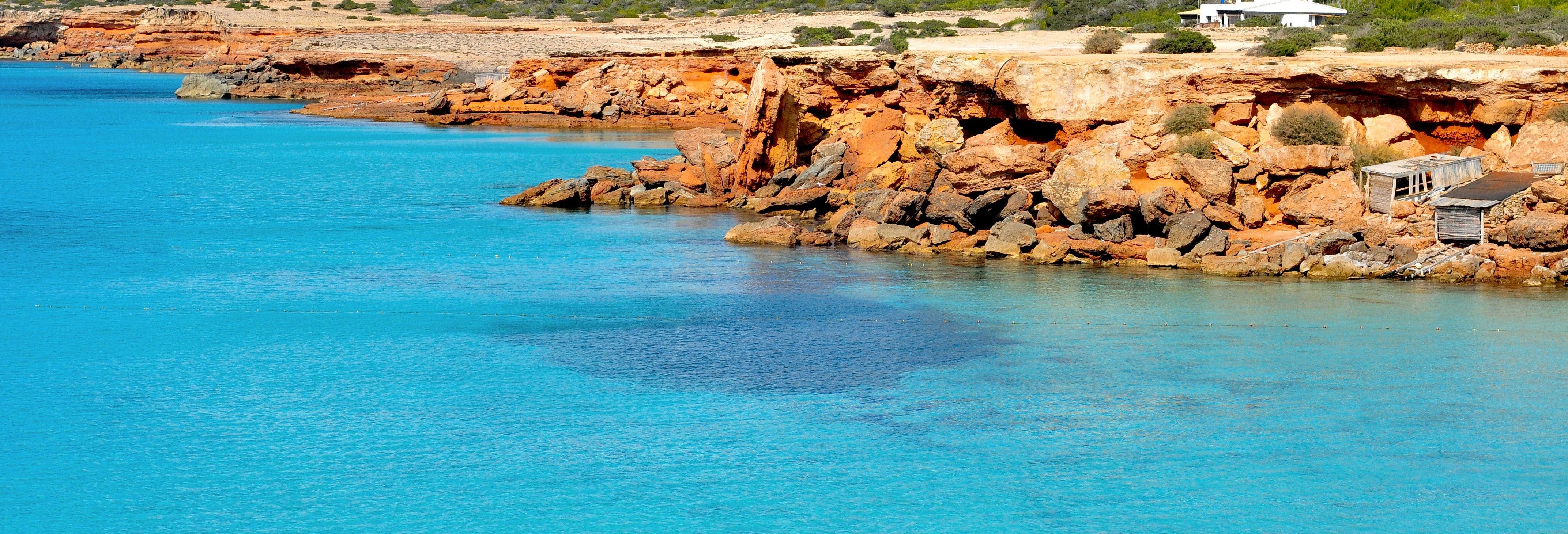 Balade en bateau dans les criques de Formentera