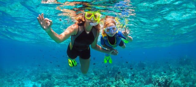 Snorkel en el norte de Formentera