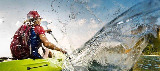 Excursión en kayak con snorkel desde Fornells