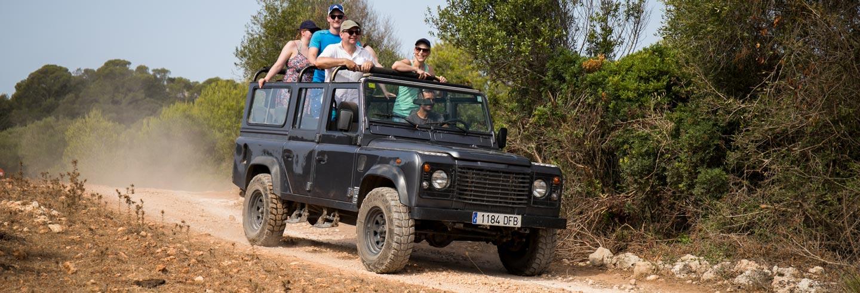 Jeep Safari por la Menorca desconocida desde Fornells