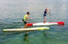 Curso de paddle surf en Foz