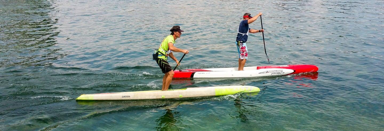 Curso de paddle surf em Foz