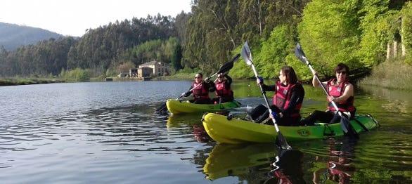 Tour en kayak por Foz