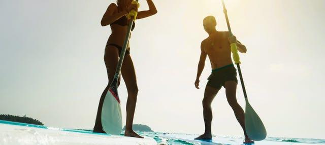 Curso de paddle surf en Fuengirola