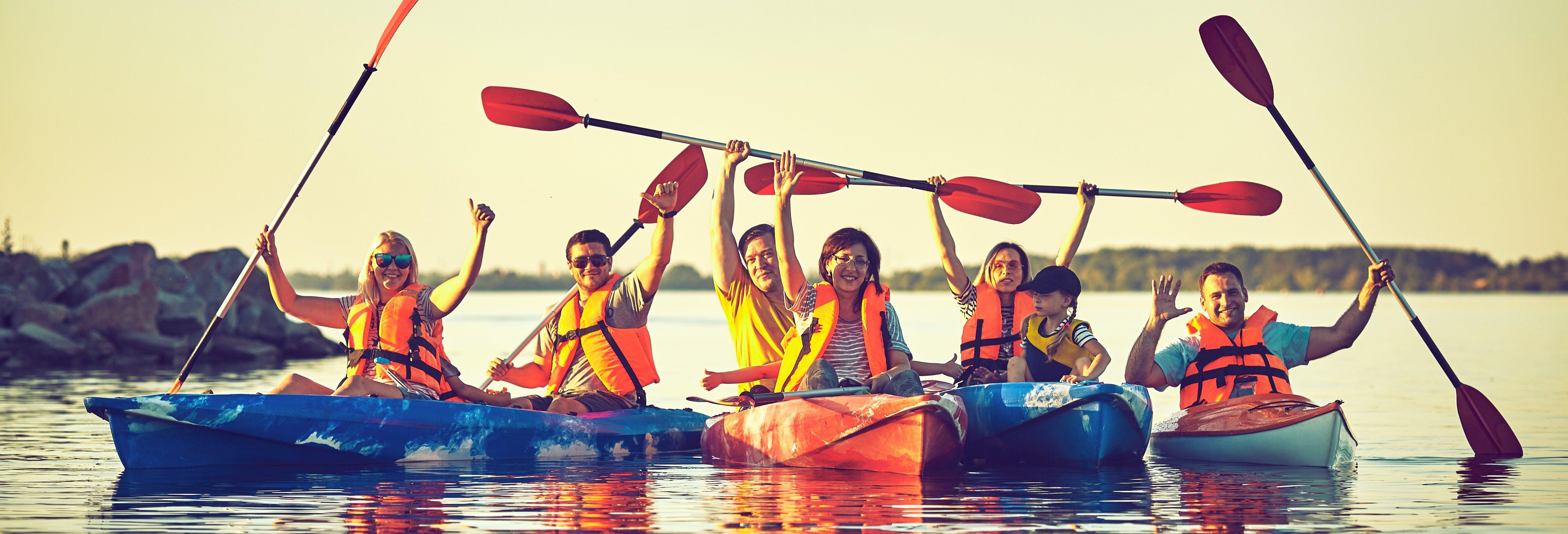 Excursión en kayak en las Hoces del Duratón
