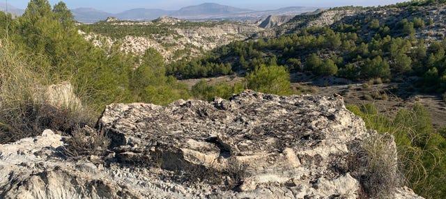 Senderismo por las sismitas de Galera
