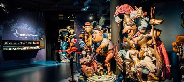 Entrada al Museo Fallero de Gandía
