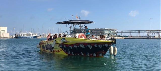 Paseo en catamarán por la costa de Denia