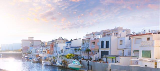Paseo en catamarán por Gandía al atardecer
