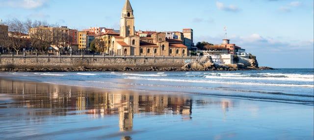 Autobús turístico de Gijón
