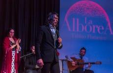 Espectáculo flamenco en La Alboreá