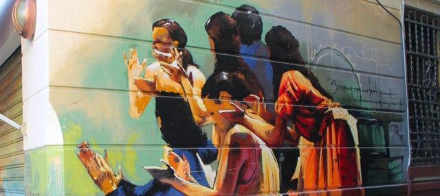 Free tour del grafiti por Granada