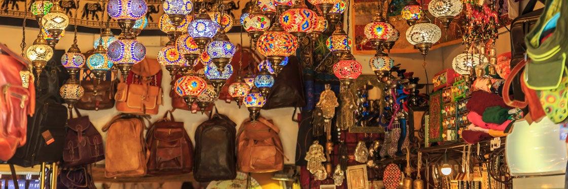 Shopping a Granada