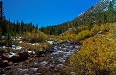 Sierra Nevada Hiking Route