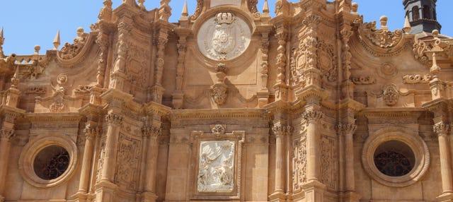 Entrada a la Catedral de Guadix